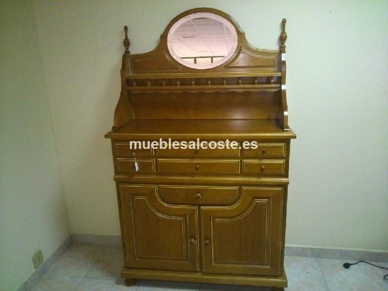 Mueble rustico pino flandes cod 20582 segunda mano for Muebles rusticos badajoz