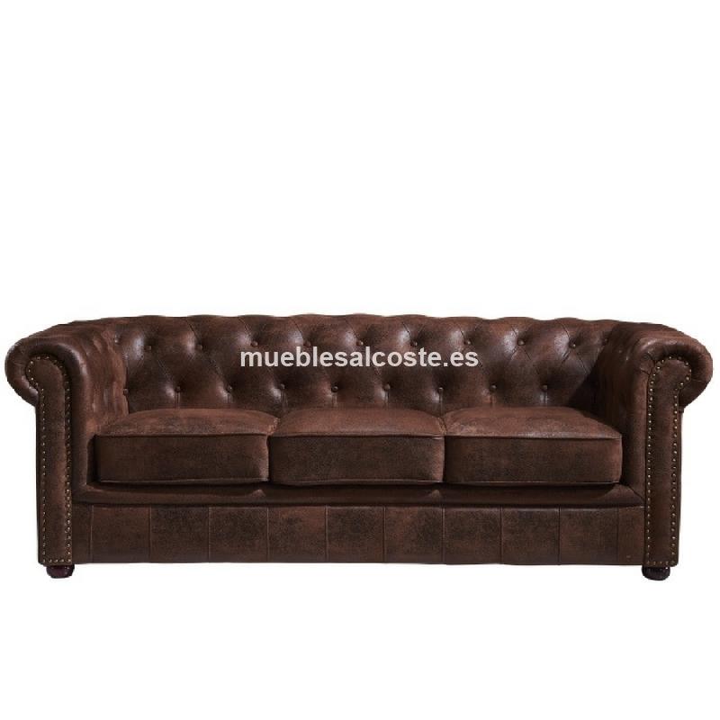 Sofas chester by muebles marieta cod 24963 liquidacion - Muebles vizcaya liquidacion ...