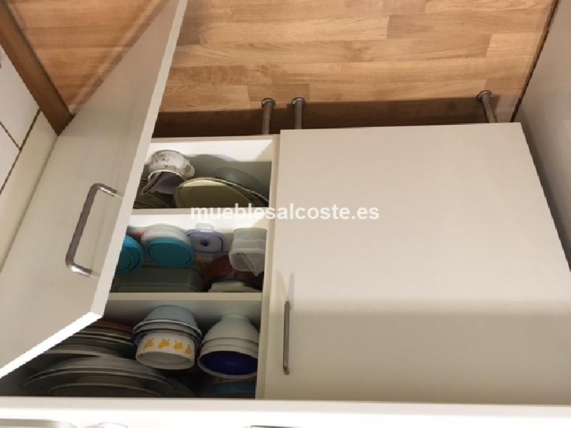 Armarios de cocina de segunda mano conjunto alacena y for Milanuncios cadiz muebles