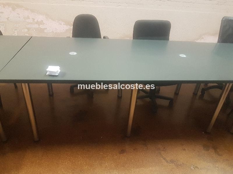 Mesas de escritorio cod 20678 segunda mano - Escritorio oficina segunda mano ...