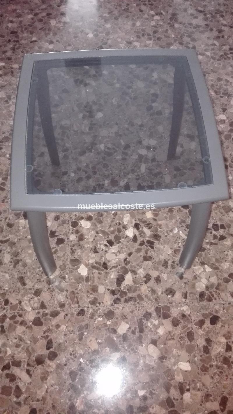 Mesa centro con cristal cod 20687 segunda mano for Mesa centro segunda mano