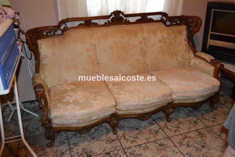 3 2 sof y sillones estilo luis xv cod 20690 segunda mano for Muebles luis xv segunda mano