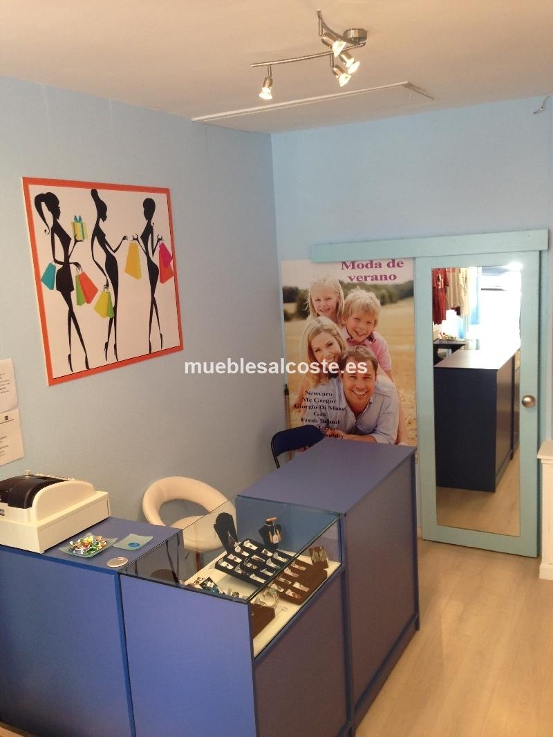 Mueble para tienda de ropa cod 20732 segunda mano for Muebles para ropa