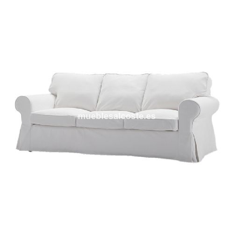 Muebles Baratos Sofa con Chaise Longue, 3 plazas, Subida A Domicilio, Color Gris, ref-54