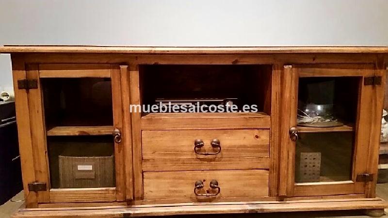 Mueble rustico mexicano cod 20857 segunda mano - Muebles rustico mexicano ...