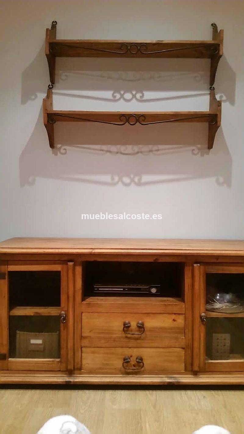 Mueble rustico mexicano cod 20857 segunda mano for Muebles segunda mano elche