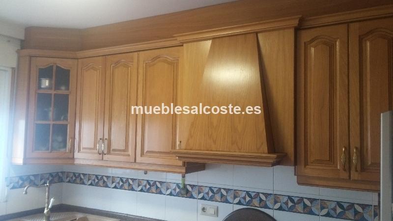 Muebles cocina de roble 20877 segunda mano, Mueblesalcostees