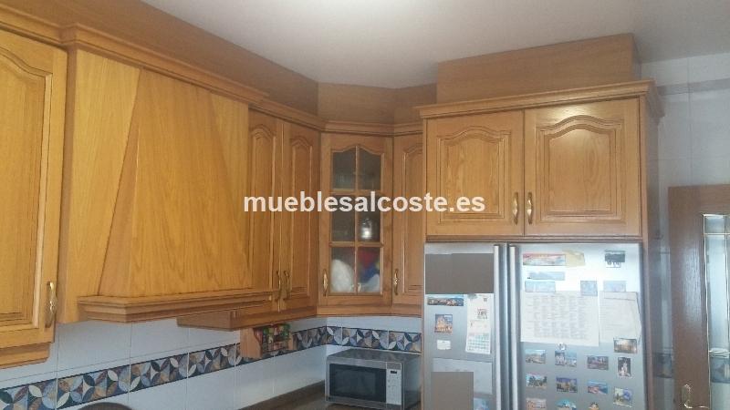 Muebles cocina de roble cod:20877 segunda mano, Mueblesalcoste.es