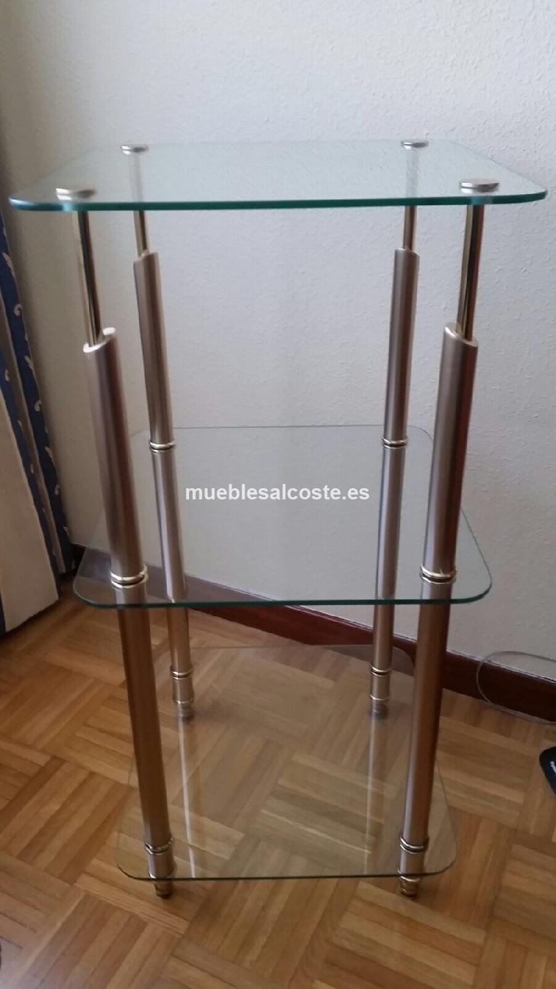 Mueble con baldas de cristal cod 21005 segunda mano - Baldas de cristal ...