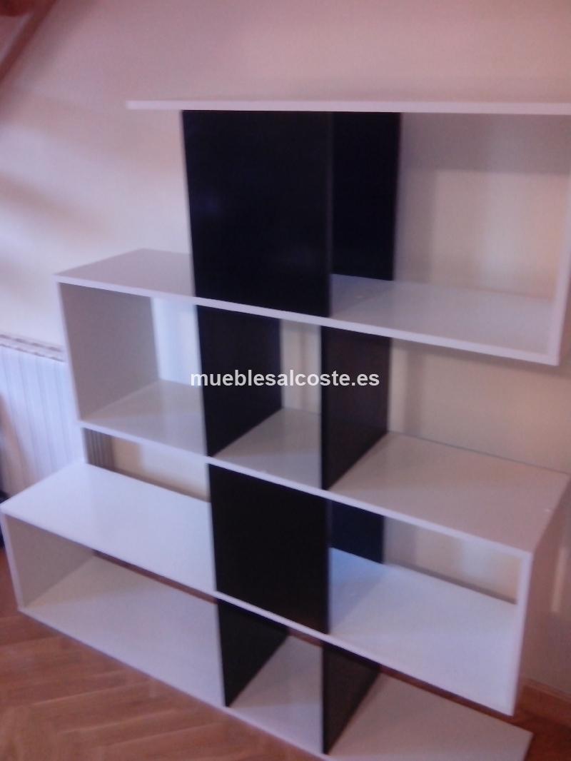 Estanteria Para Baño Segunda Mano: de diseño moderno vendemos estantería en blanco y negro de diseño