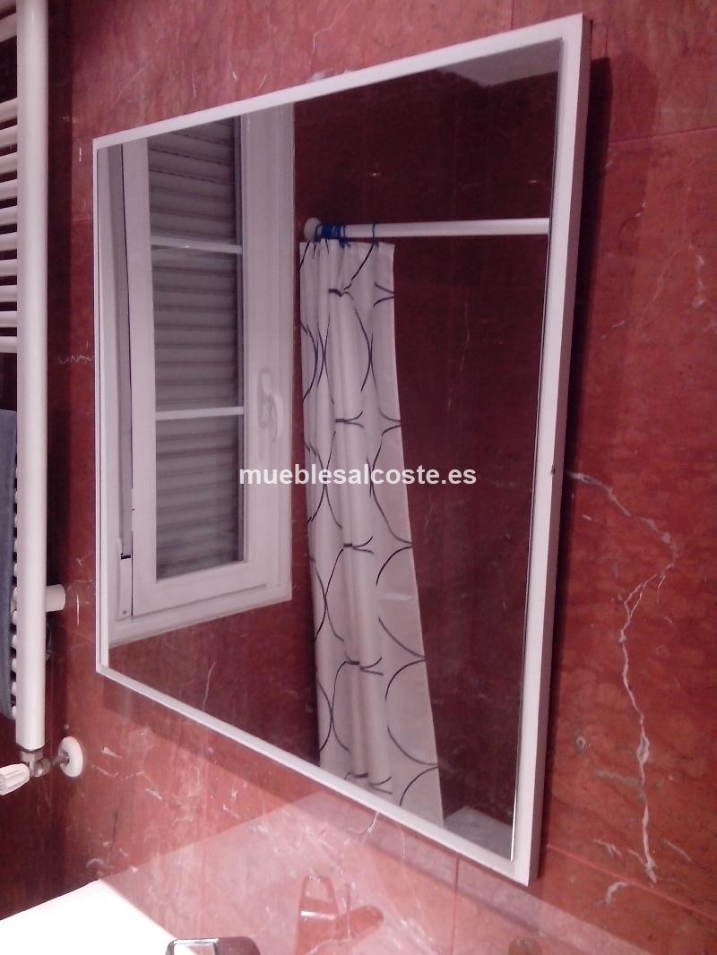 Espejo con base de madera cod 11624 segunda mano for Espejo segunda mano