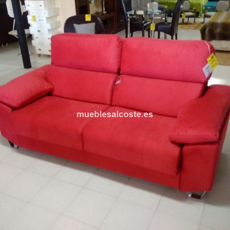 Sofa Cama Italiano En Tela Colchon Calidad Extra Cod21326 Segunda