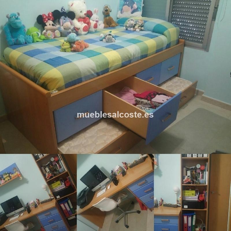 Habitacion juvenil estilo igual foto acabado igual foto cod 21378 segunda mano - Comprar habitacion juvenil segunda mano ...