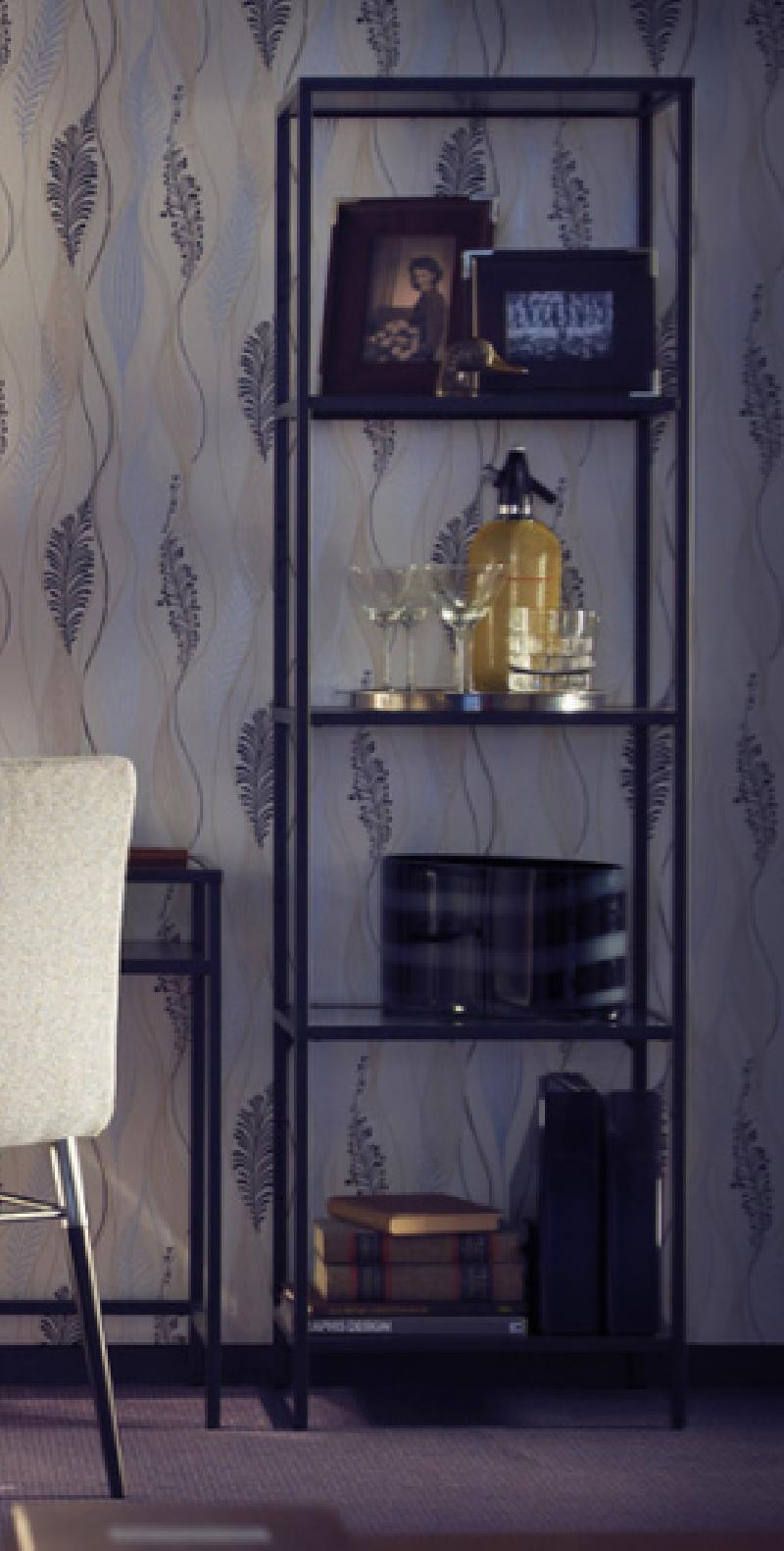 Estanteria metal vidrio IKEA cod:21457 segunda mano ... - photo#7