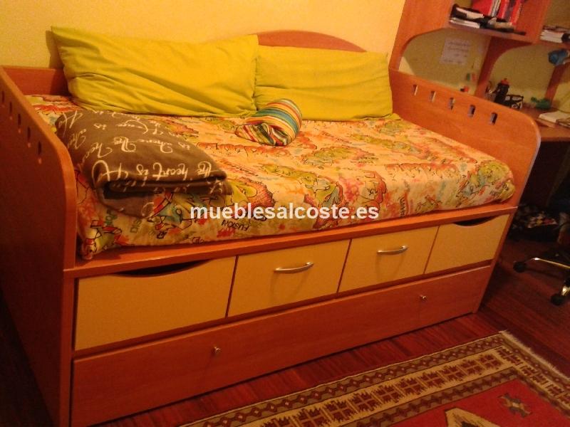 Mueble cama juvenil cod 11647 segunda mano - Muebles segunda mano bizkaia ...
