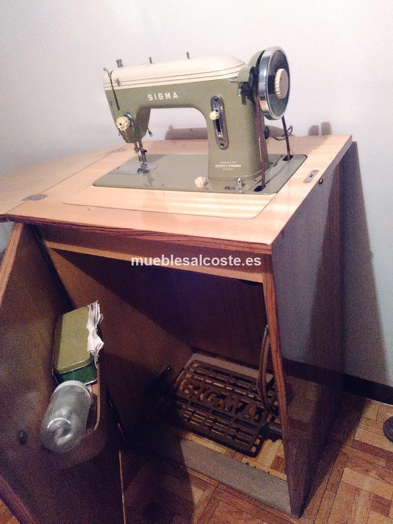 M Quina De Coser Sigma De Pedal Fabricada Por Estarta Y Ecenarro  # Muebles Maquina De Coser Segunda Mano