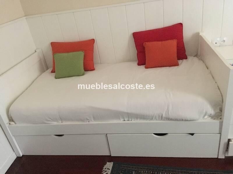 2 camas lacadas individuales todo incluido