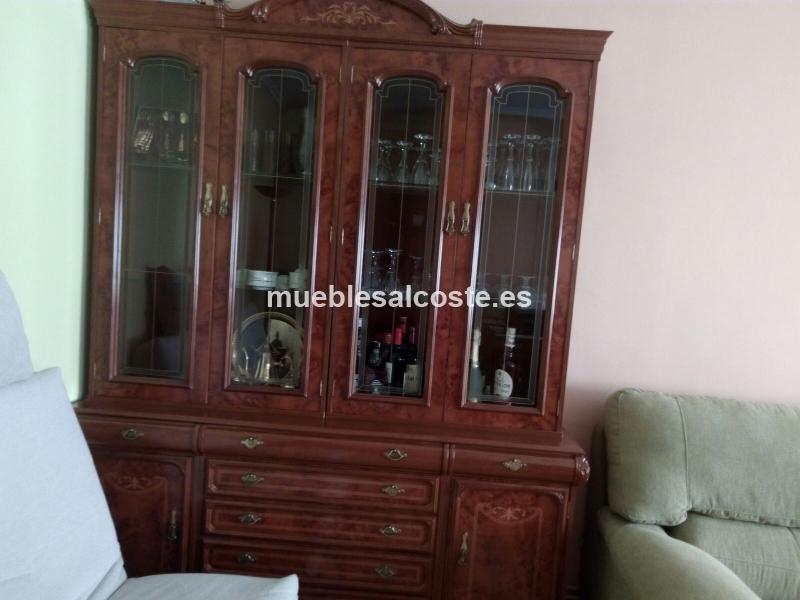 Mueble de salón y aparador con espejo