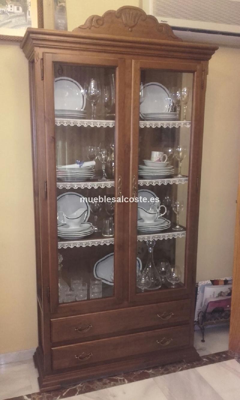 Vitrinas de salon de segunda mano muebles de saln with - Vitrinas de cristal de segunda mano ...