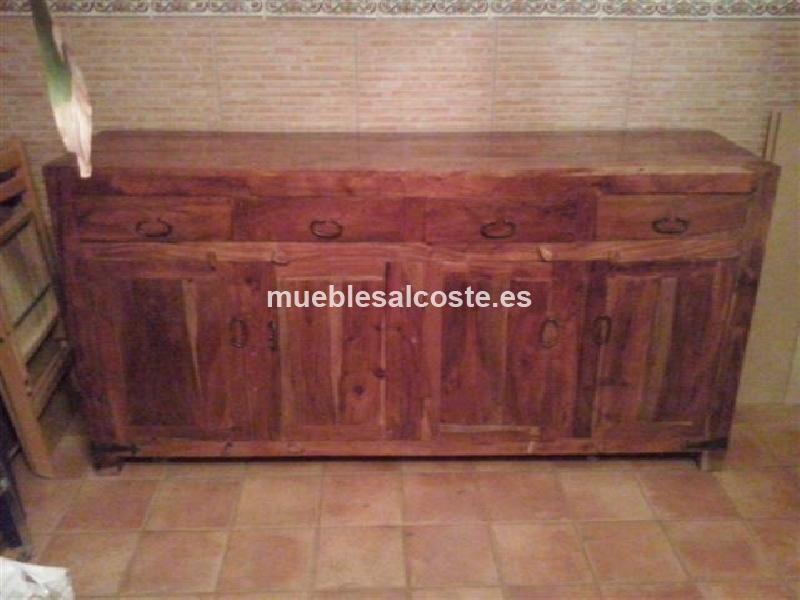 Aparador estilo madera acabado madera cod 11679 segunda mano - Aparador segunda mano ...