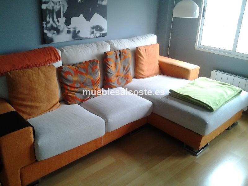 Sofa chaise longue cod 11730 segunda mano for Chaise longue segunda mano barcelona