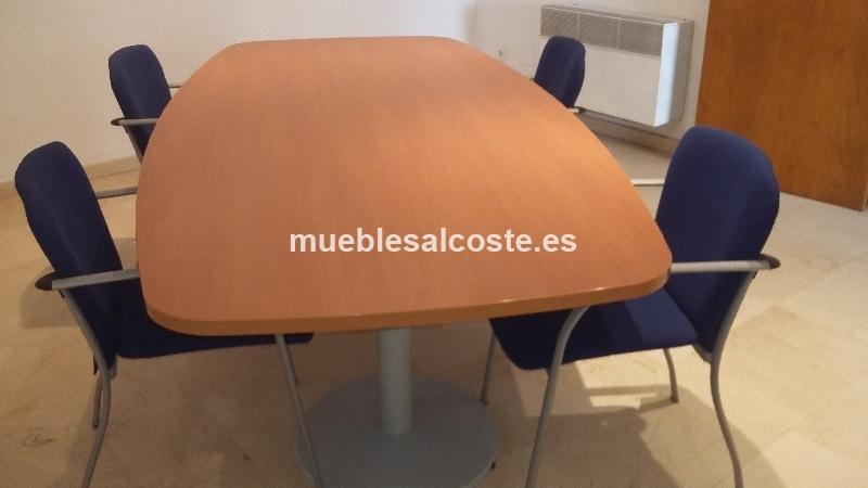 SILLAS Y MESAS OFICINA cod:23034 segunda mano, Mueblesalcoste.es
