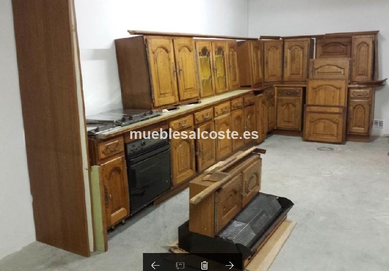 COCINA RUSTICA MADERA MACIZA