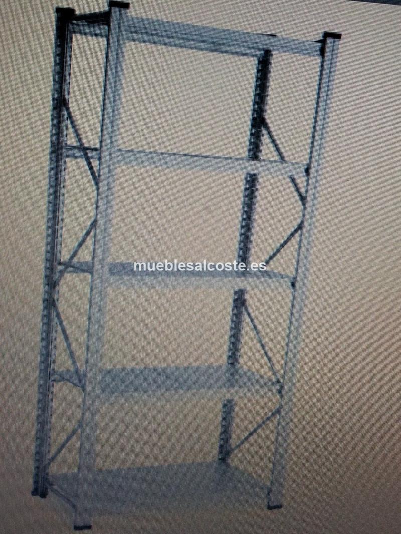 Estanterias met licas de acero galvanizado 180 60 200 - Ofertas estanterias metalicas ...