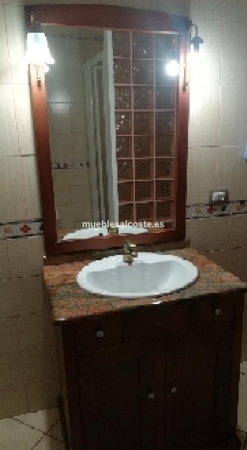Mueble bano con espejo y columna p cod 23194 segunda mano - Muebles de bano segunda mano ...