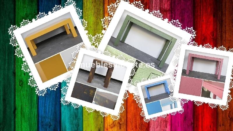 Mesa Auxiliar En El Color Que Tu Quieras Cod 23301 Segunda Mano