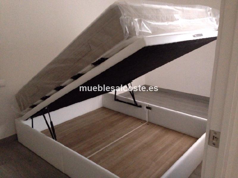 Cama canape sonpura cod 23361 segunda mano for Camas canape barcelona