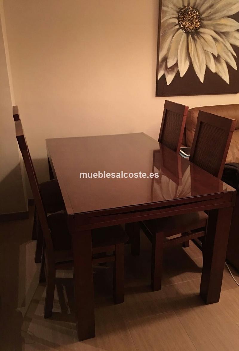 Mesa comedor + sillas cod:23618 segunda mano, Mueblesalcoste.es