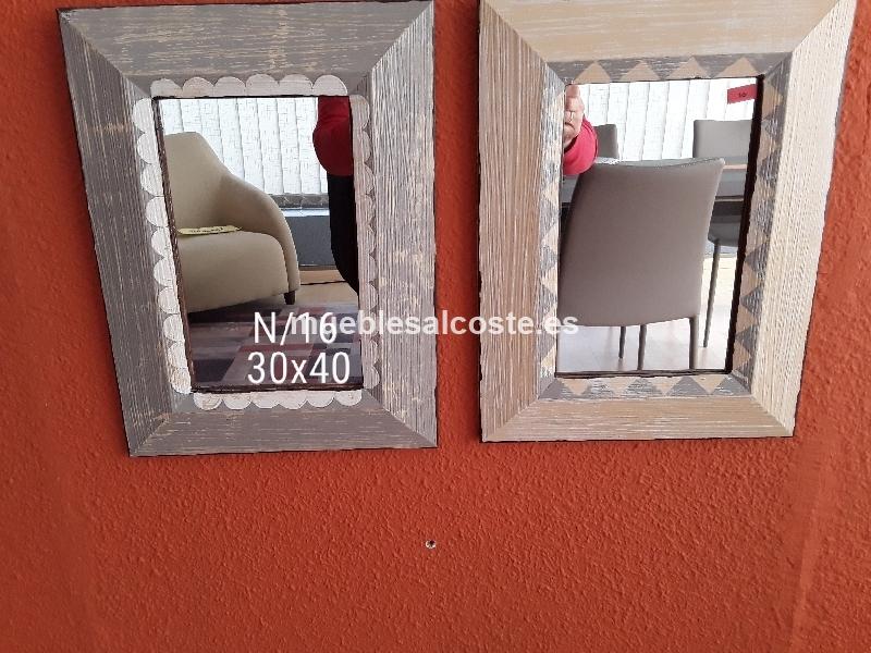 Espejos vizcaya estilo igual foto acabado igual foto cod 23810 liquidacion - Muebles vizcaya liquidacion ...