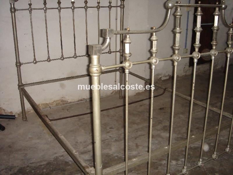 Cama de hierro cod 12036 segunda mano - Cabeceros de cama segunda mano ...