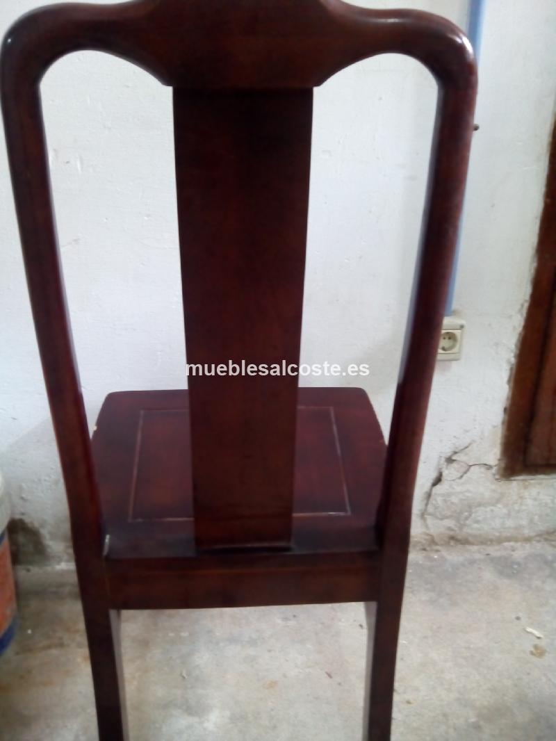Sillas de madera cod 12035 segunda mano for Sillas de jardin segunda mano
