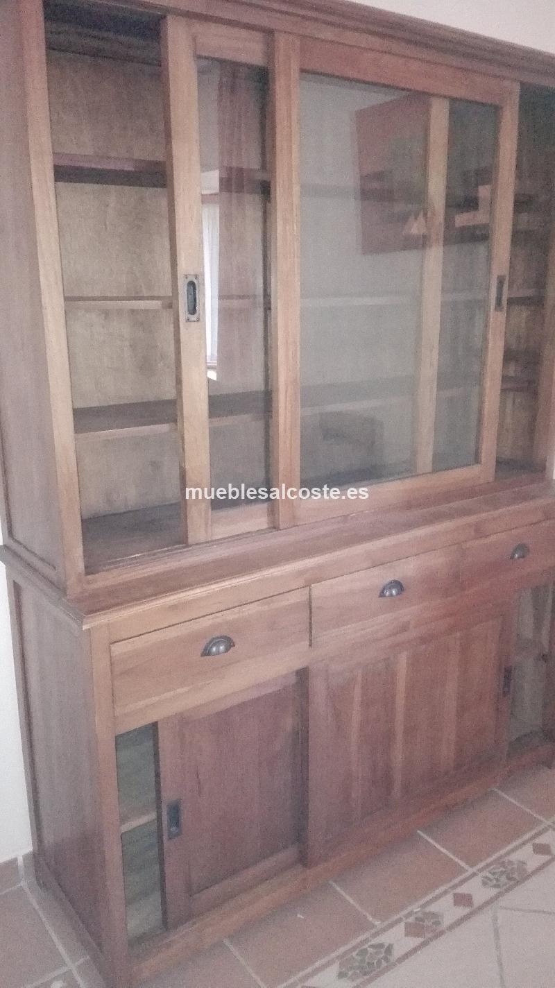 Mueble colonial estilo igual foto acabado igual foto cod 23867 segunda mano - Mueble colonial valencia ...