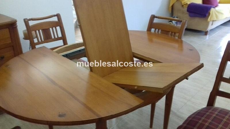mesa,sillas y aparador comedor cod:24464 segunda mano, Mueblesalcoste.es