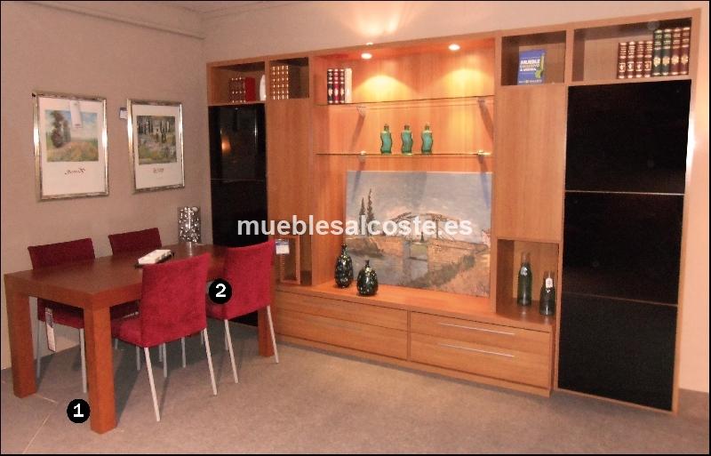 Mueble comedor estilo moderno acabado madera cod 12088 for Muebles daicar