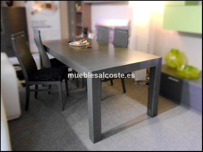 Mesa rectangular extensible cod 12078 segunda mano for Mesa rectangular extensible