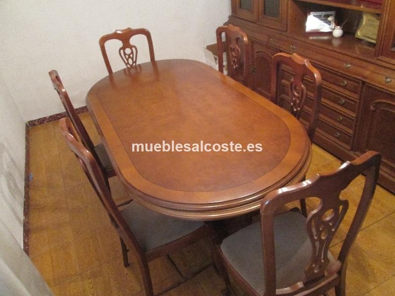 Mesa comedor extensible y sillas cod:24614 segunda mano ...