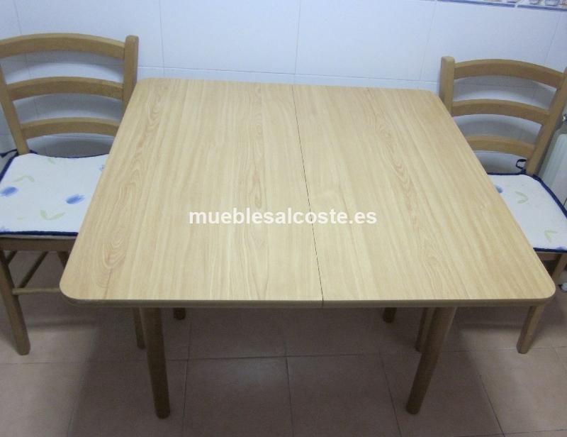 Mesa de cocina 2 sillas cod 12112 segunda mano - Sillas de cocina de segunda mano ...