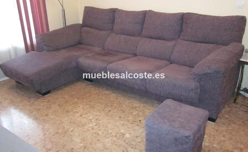 Sofa chaise longue cod 12109 segunda mano for Chaise longue segunda mano barcelona