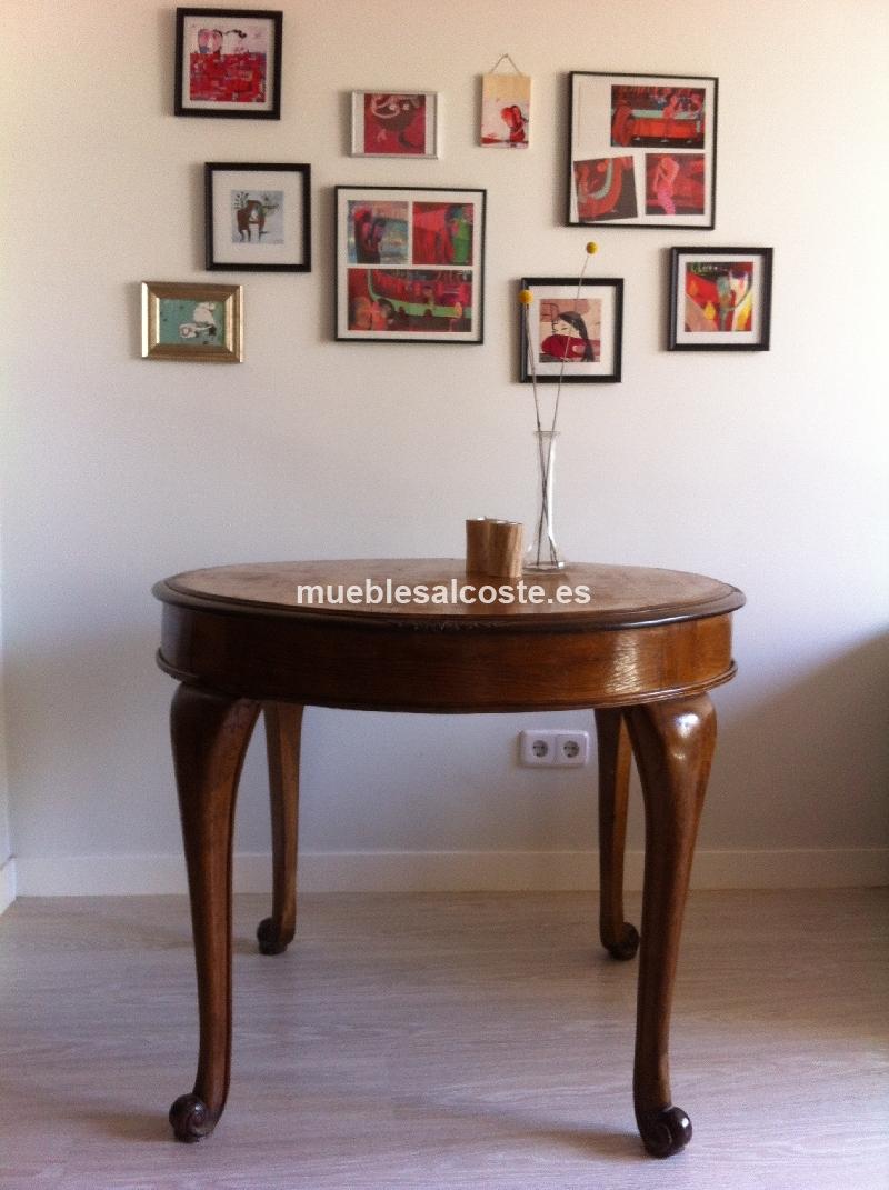 Mesa de comedor roble vintage cod:12133 segunda mano, Mueblesalcoste.es