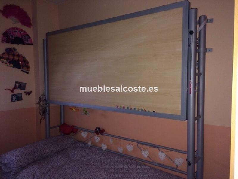 Cama litera abatible cod 12234 segunda mano - Camas abatibles barcelona ...