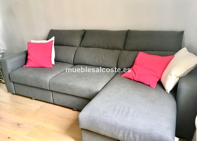 Un Sofa Gris Cod 25044 Segunda Mano Mueblesalcoste Es