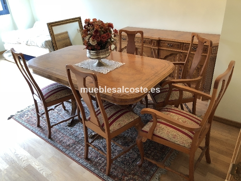 Mesa y sillas de comedor cod:25086 segunda mano, Mueblesalcoste.es