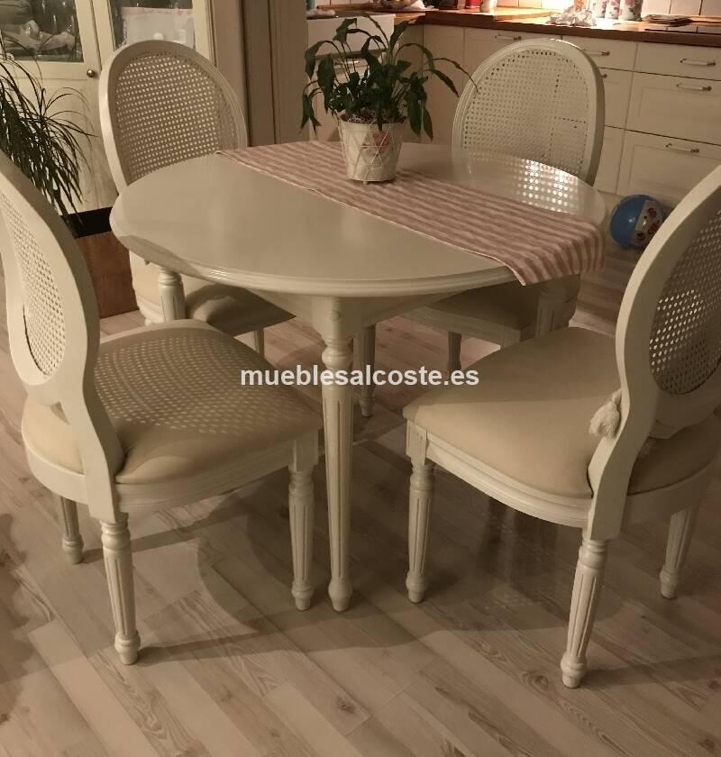 Mesa y sillas comedor cod:25291 segunda mano, Mueblesalcoste.es