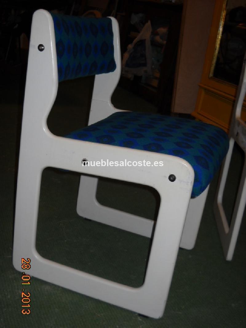 Sillas vintage 3 cod 12366 segunda mano for Sillas vintage segunda mano