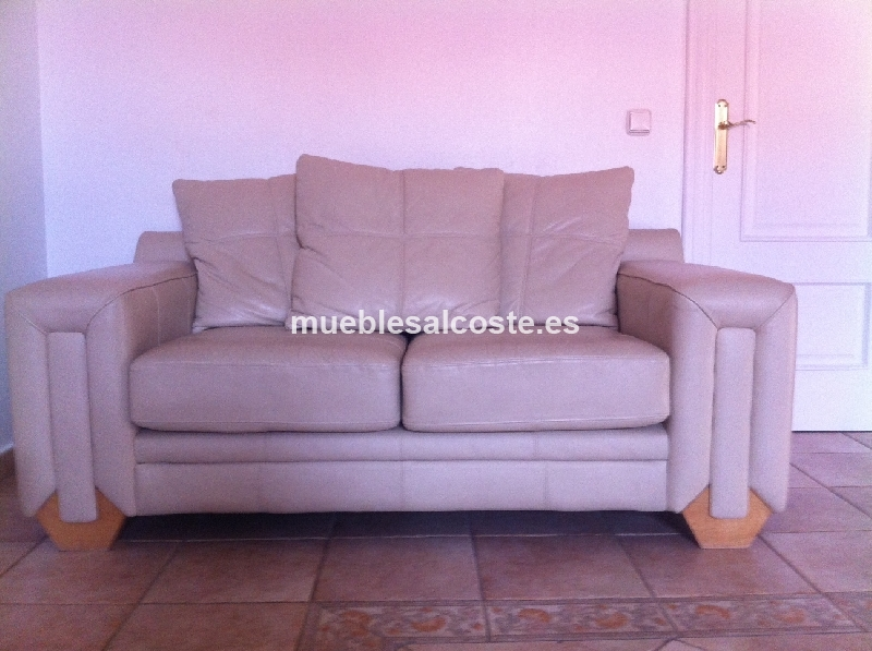 Sofa polipiel 2 plazas cod 12386 segunda mano for Sofa 2 plazas polipiel