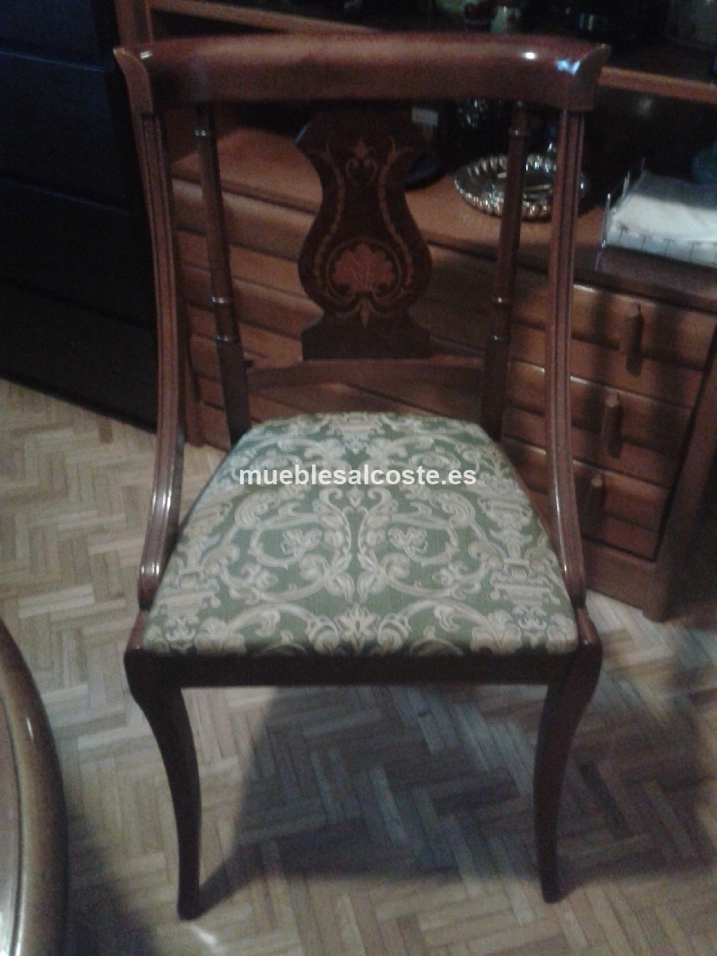 Comedor conjunto completo mesa sillas y aparador cod 12409 segunda mano - Mesas y sillas de comedor segunda mano en madrid ...